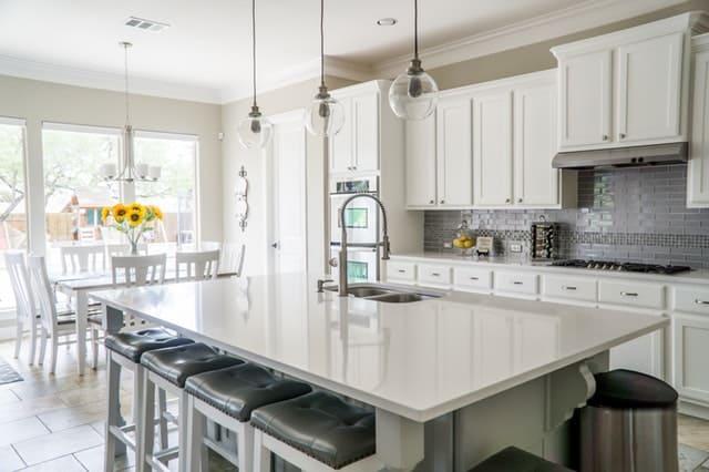 Beautiful, decluttered kitchen