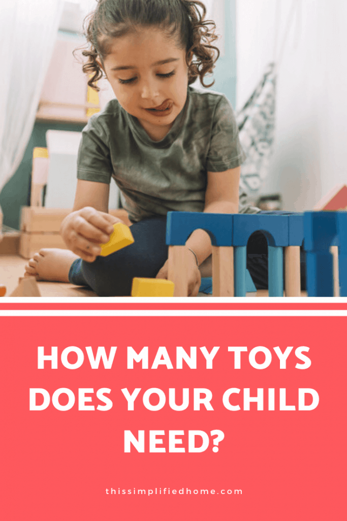 One friend raves about having fewer toys. Another has a house so packed, it looks like a toy store. How do you know how many toys are the right amount?