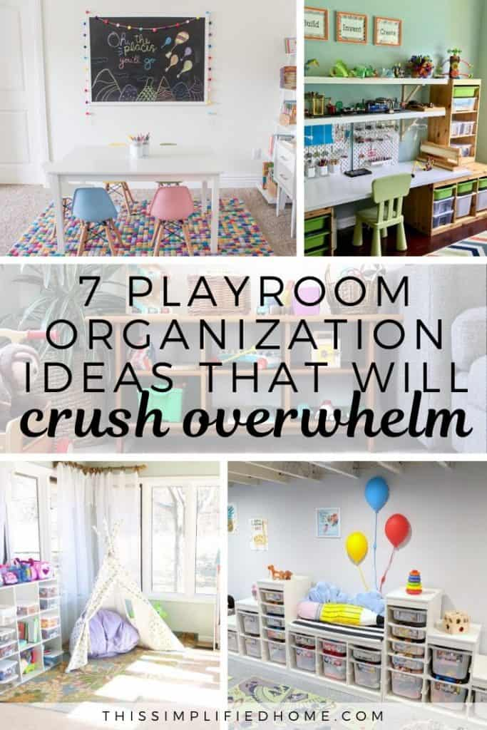 Overwhelmed by playroom organization that requires a design team and a full-time housekeeper to maintain? Here are some dream playroom ideas anyone can do.